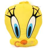 Looney Tunes Tweety Bird Face Pillow Cushion -14""