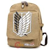 "Attack on Titan Scouting Legion Large School Backpack Canvas 16"" Bag"