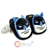 DC Comics Batman Face 3D Plush Slipper : Adult Large
