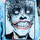 DC Comic Heroes Batman Joker Microfiber Plush Throw Blanket : (46x60)