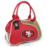 NFL San Francisco 49ers  Bowler Bag Purse , Hand Bag