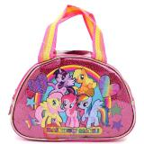 My Little Pony Rainbow Magic Kids Hand Bag Purse -Satin Satchel