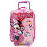 Disney Minnie Mouse  Rolling Luggage Suite Case Travel Bag -I Love My Pets