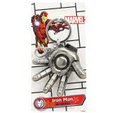 Marvel Iron Man Hand  3D Metal Key Chain Pewter Key Holder