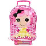 Lalaloopsy Crumbs Sugar Cookie  Rolling Luggage Pink  Roller Bag