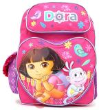 Dora The Explorer Dora & Boots School Backpack 16in Large Bag-Golden Harvest