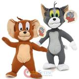 Tom and Jerry Large Plush Doll Set 2pc Soft Stuffed Toy