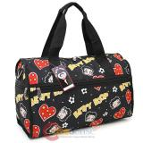 Betty Boop Duffle Travel Bag  Diaper Gym Bag - Polka Hearts