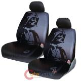 Star Wars Darth Vader Front Car Seat Cover Set-  Low Back w/Head Rest Covers