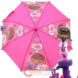 Disney Doc McStuffins Kids Umbrella with 3D Figure Handle