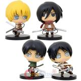 "Attack on Titan 3"" Figure 4pc Set"