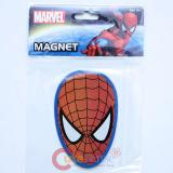 Marvel Spiderman Face Cut Magnet - 4in