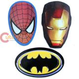 Marvel DC  Heroes  Magnet Set - Spiderman Iron Man Batman