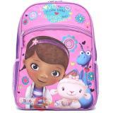 """Disney Jr. Doc Mcstuffins Large  Backpack 16"""" Bag - Love More Than"""