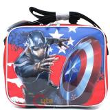 Marvel Avengers Captain America School Lunch Bag- Insulated Box -Great Bravery
