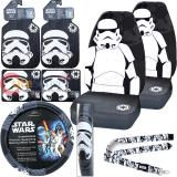 Star Wars  Storm Trooper Car Seat Covers Accessories Complete 10PC Set