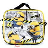 Despicable Me 2  School Lunch Bag Minions Insulated Box -Works!