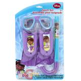 Disney Doc Mcstuffins Kids Swim Set - Mask, Snorkel, Flipper 3pc Set