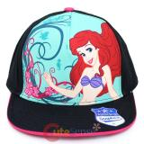 Disney Little Mermaid Ariel  Snapback Hat  Flat Bill Cap