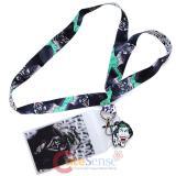 DC Comics Joker Lanyard , ID Holder with Charm - HaHaHa