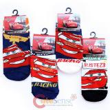 Disney Cars Mcqueen  4 Pair Anklets  Socks Set : Kids  Size 6-8