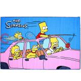 "Simpson Family Carpet Accent Mat Area Rug  39""x58"" - Auto Trip"
