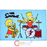 "Simpson Family Bart and Lisa Carpet Accent Mat Area Rug  39""x58"" - Ensemble"