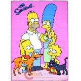 "Simpson Family Carpet Accent Mat Area Rug  39""x58"" - Family Photo"