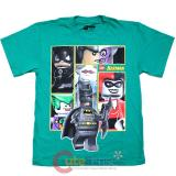 Lego Batman with Villians Boys T Shirt : Large
