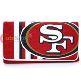 NFL San Francisco 49ers Organizer Mesh Wallet  Clutch Ladies Wallet