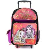 "Ever After High Large School Roller Backpack 16"" Rolling Bag :Foever High"