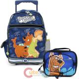 "Scooby Doo and Shaggy16"" Large School Roller Backpack with Lunch Bag Set"