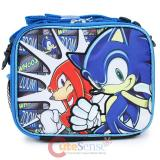 Sonic The Hedgehog with Knuckles  School  Insulated Lunch Bag - Whoosh Zoom