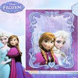 "Disney Frozen Elsa Anna Raschel Plush Mink Blanket Twin 59"" x 78""  Queen of the North Mountain"