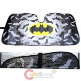 DC Comics Batman Bat Logo Front Window Sun Shade  Car Windshield