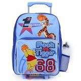"Disney Pooh & Tigger School  Roller Backpack16"" Rolling Bag"