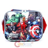 Marvel Avengers Assemble  School Lunch Bag Insulated Snack Box - Hero's