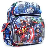 "Marvel Avengers Assemble Small School Backpack 12"" Book Bag - Hero's"