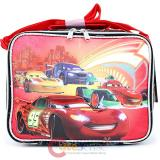 Cars Mcqueen  School Lunch Bag Insulated Snack Box - Neon Light