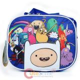 Adventure Time School Lunch Bag Insulated Food Snack Box -Jake Finn New Friends