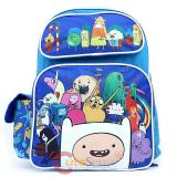 "Adventure Time 16"" School Backpack Large Book  Bag - New Friends"