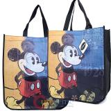 Disney Mickey Mouse 2pc Recycled Shopper Bag Party Gift Tote Bag Set