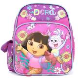 Dora The Explorer Dora & Boots School Backpack ,Toddler Small Bag-10in Pink Music