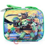TMNT Teenage Mutant Ninja Turtles School Lunch Bag Insulated Snack Box - Shell Power