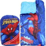 Marvel Spiderman  Kids  Sleeping Bag Slumber Bag with Carry Backpack