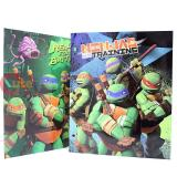 TMNT Ninja Turtles File Folder Set - 4pc File  Jacket Stationary