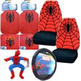 Marvel Spiderman  Car Seat Covers Accessories Complete 8PC Set