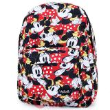 "Disney Minnie Mouse Large School Backpack Red Polka Dots All Over Prints 16""  Bag"