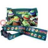 TMNT Teenage Mutant Ninja Turtles  Coin Wallet with Lanyard ID Holder
