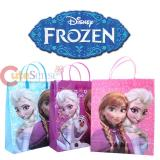 """Disney Frozen Elsa Anna and Olaf  Party Gift Bag Set of 6pc - Large 13"""""""